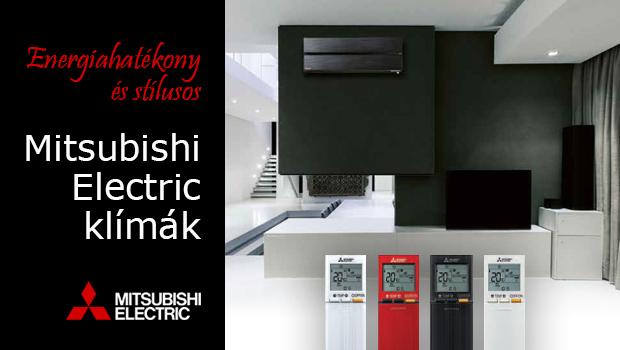Mitsubishi Electric klímák kedvezményes áron